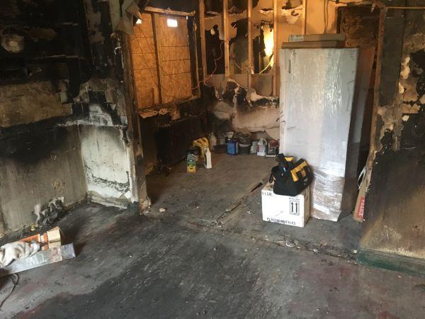 sandusky house fire cleaning